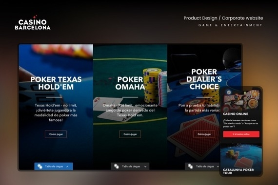 A Redesigned Web Experience for Game and Leisure
