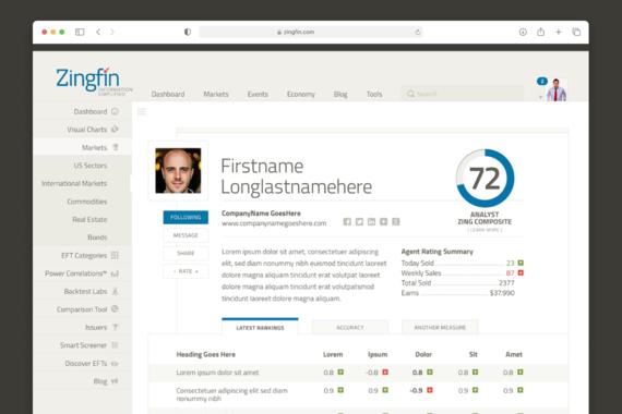 Zingfin | UX and UI Design