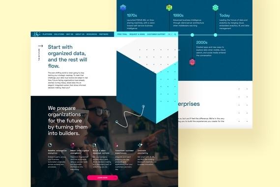 ibi Website Redesign