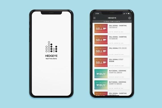 Hedgeye Real-Time Alerts App