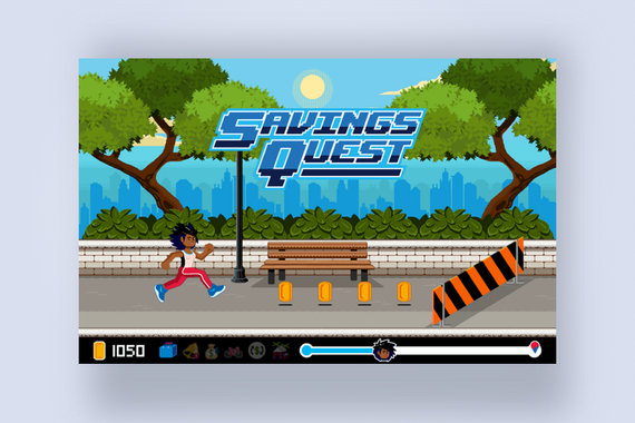 Savings Quest - A Creative Gaming Experience Designed to Improve Customer Financial Education