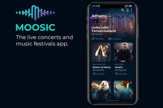Music Festivals Mobile App