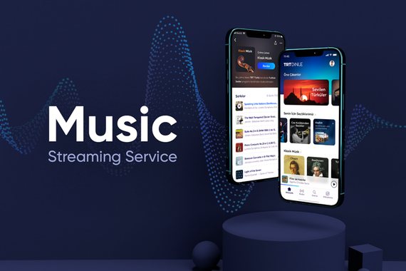 Audio Streaming App and Web for TRT (Turkish National Radio and Television)