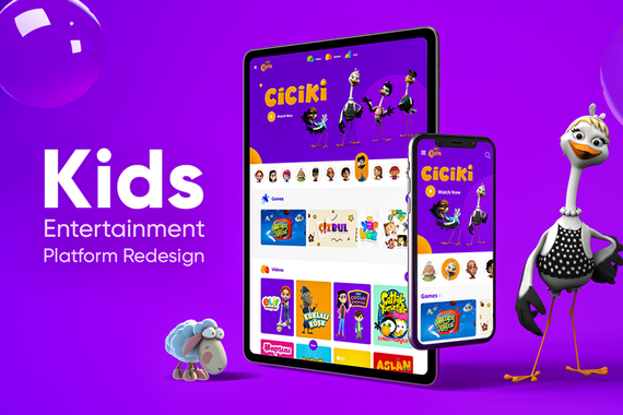 Children's Entertainment and Broadcasting Platform for TRT Cocuk