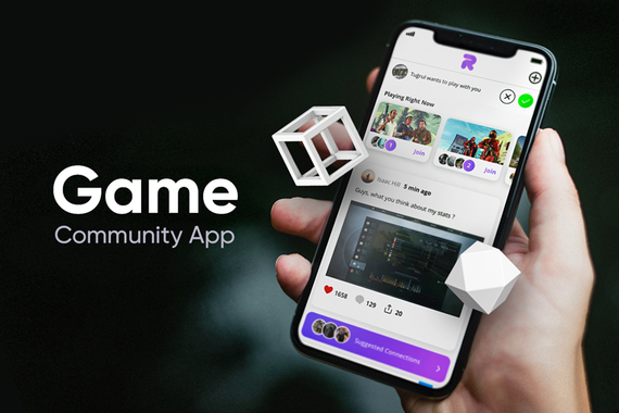 Game Community App for Rush, Inc. (Startup)