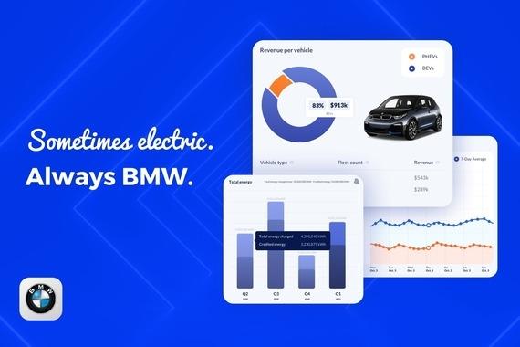 Dashboard for BMW