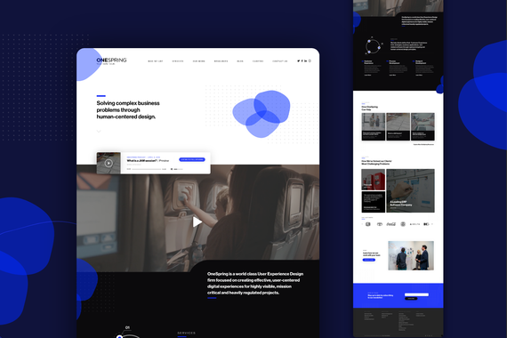 UX Consultancy Website Redesign
