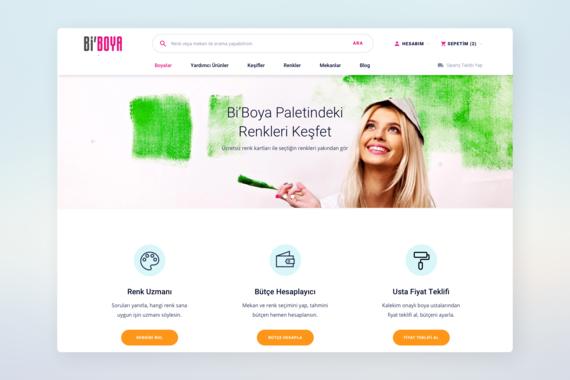 eCommerce Website UI and UX Design