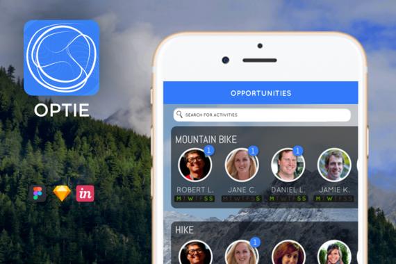 OPTIE — Outdoor Activity Finder App