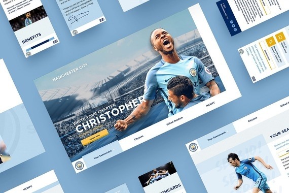 Manchester City | Ticketing Platform