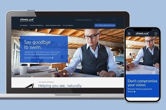 Varilux Responsive Website