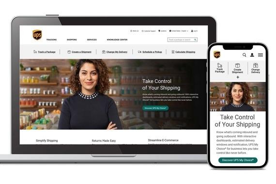UPS.com Global Website Design System Refresh