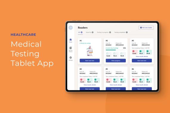 Medical Testing iPad App