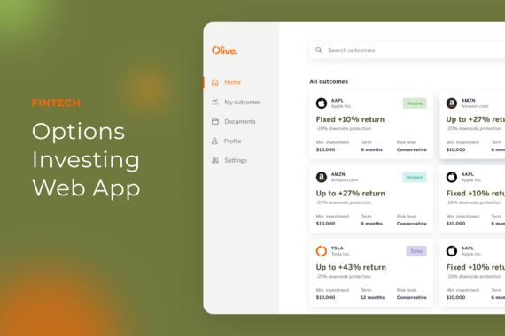 Fintech - Options Investing Web App
