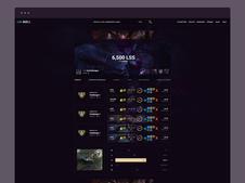 Lolskill | Web UI/UX Design