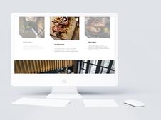 PureDice :: Restaurant Website