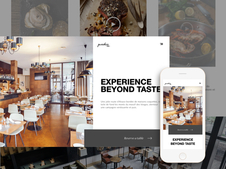 PureDice :: Restaurant Website