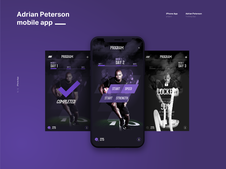 Adrian Peterson iPhone App  (NFL)