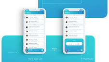 Voices | Mobile App UX/UI Design