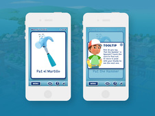 Handy Manny Flash Cards App