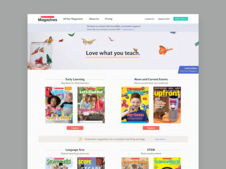 A Redesign of a Scholastic Website