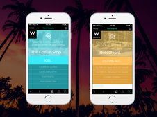 Orbiter // Hotelier iPhone app