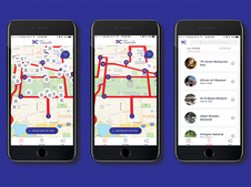 DC Trails Hop On Hop Off Tours Mobile App