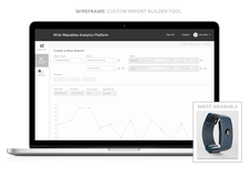 UX Design of a Web App Wearables Analytics Platform