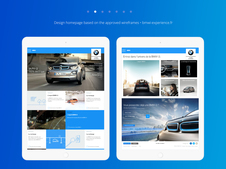 BMW: Responsive Website and Digital Campaign for BMW i3