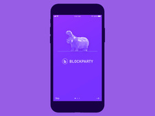 Blockparty - Blockchain UX/UI Mobile App & Site Design