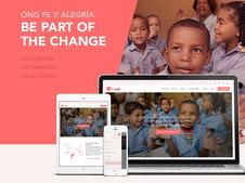 NGO Fe y alegría: Responsive Design