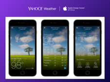 Yahoo! Weather App