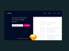 Drizzzle | SaaS Time Tracking App for Small Design Teams