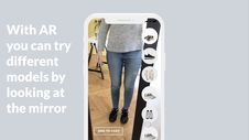 Augmented Reality Zara-inspired Mobile App Concept