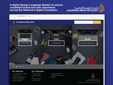 Online Design Language System for Digital, Print, and On-air Design and Development