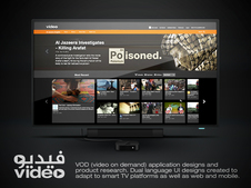 Video - VOD Smart TV, Mobile, and Web Platforms