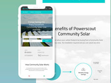 PowerScout Community Solar | UI and UX