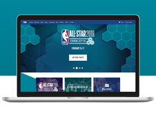 NBA All Star 2019 Website