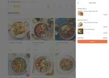 Munchery Food Website