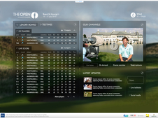 Open Championship Live Console