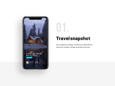 Luxury Travel App