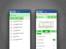 Vehicle Assessment Apps and Design System