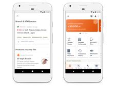 Mobile Banking App (Redacted)