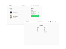 High-end Watch Rental eCommerce App