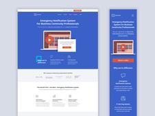 AlertFind.com Website Redesign