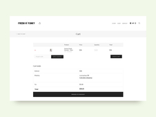 Fresh N' Funky | UX/UI + Development