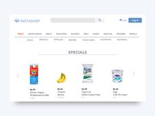 Instashop | UX/UI