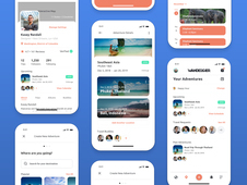 WANDERGIER • Mobile Travel App