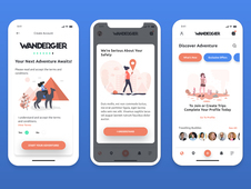 WANDERGIER • Mobile App for Travelers