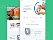 Spry Health - UX - Web Design and WordPress Build